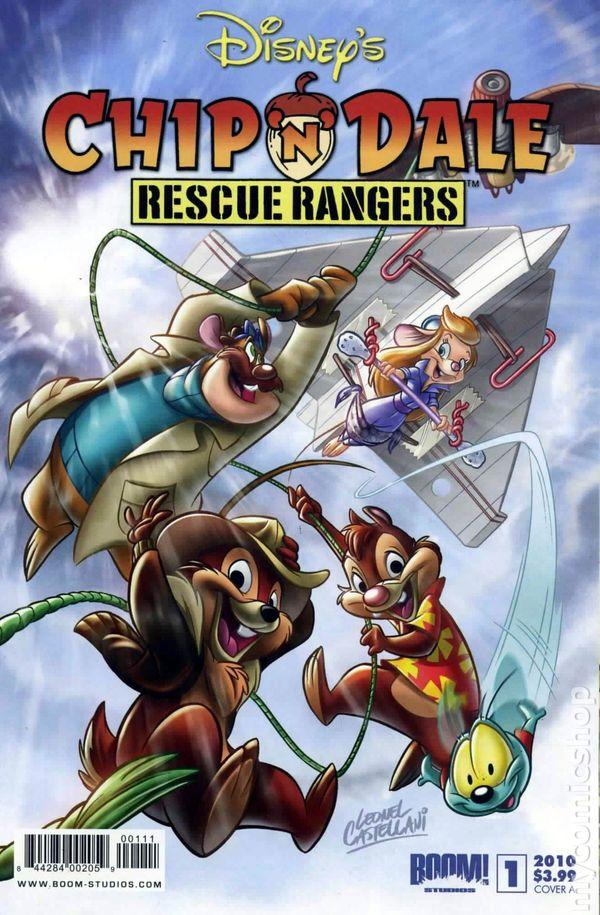Chip N Dale Rescue Rangers 2010 Boom Studios Comic Books