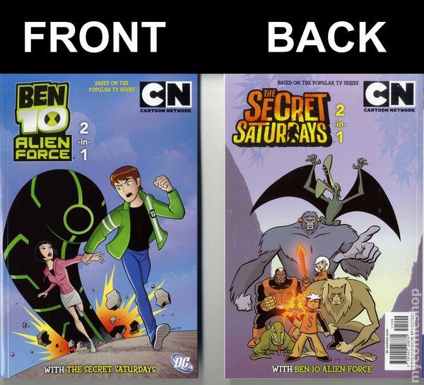 Cartoon Network 2 In 1 Ben 10 Alien Force Tss Tpb 2010 Comic Books