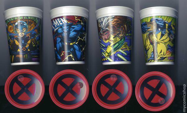 X-Men Pizza Hut Collectible Plastic Cup (1993) comic books