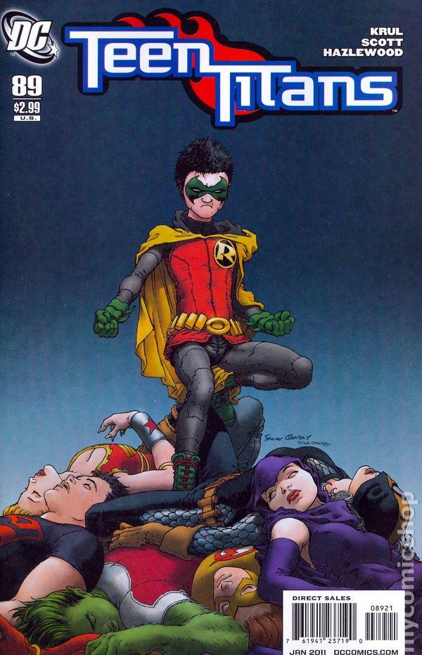 Teen Titans 2003-2011 3Rd Series Comic Books-8055