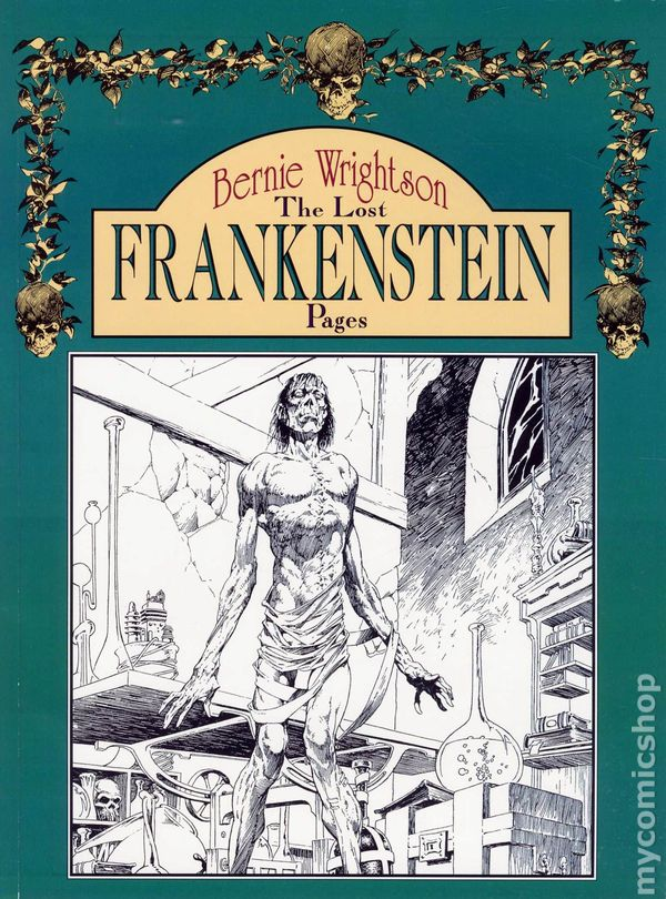 Image result for wrightson frankenstein apple
