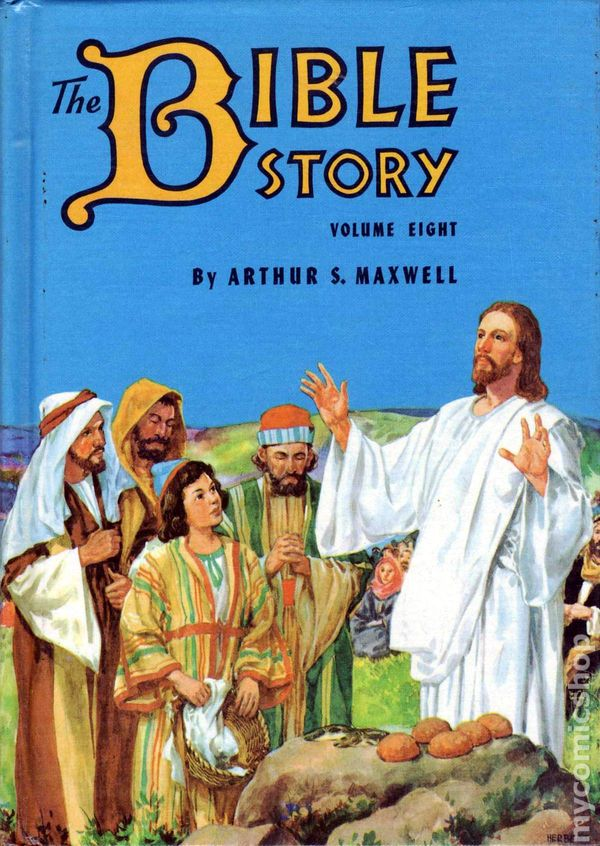 Bible Story Hc 1953 1957 By Arthur S Maxwell Comic Books