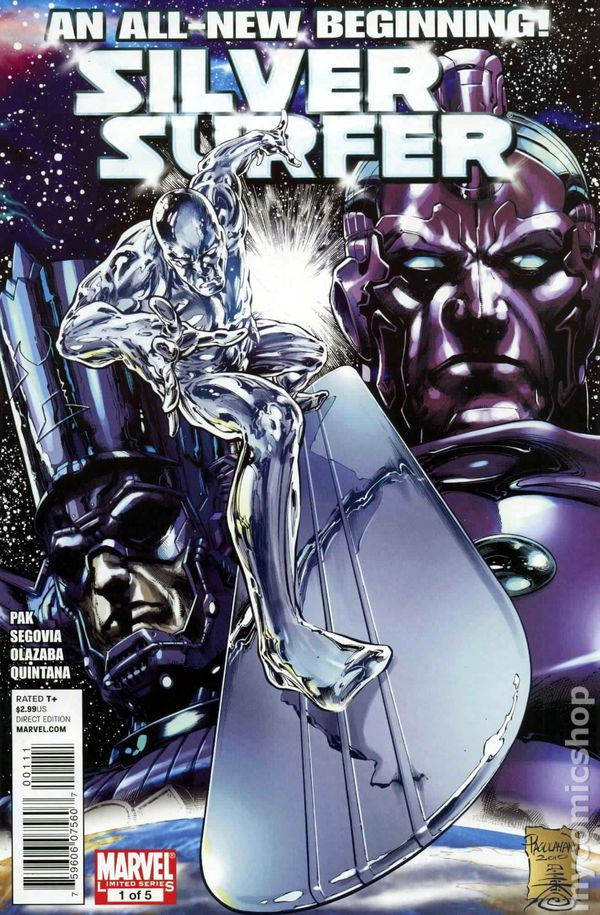 Silver Surfer 2011 4th Series Marvel Comic Books