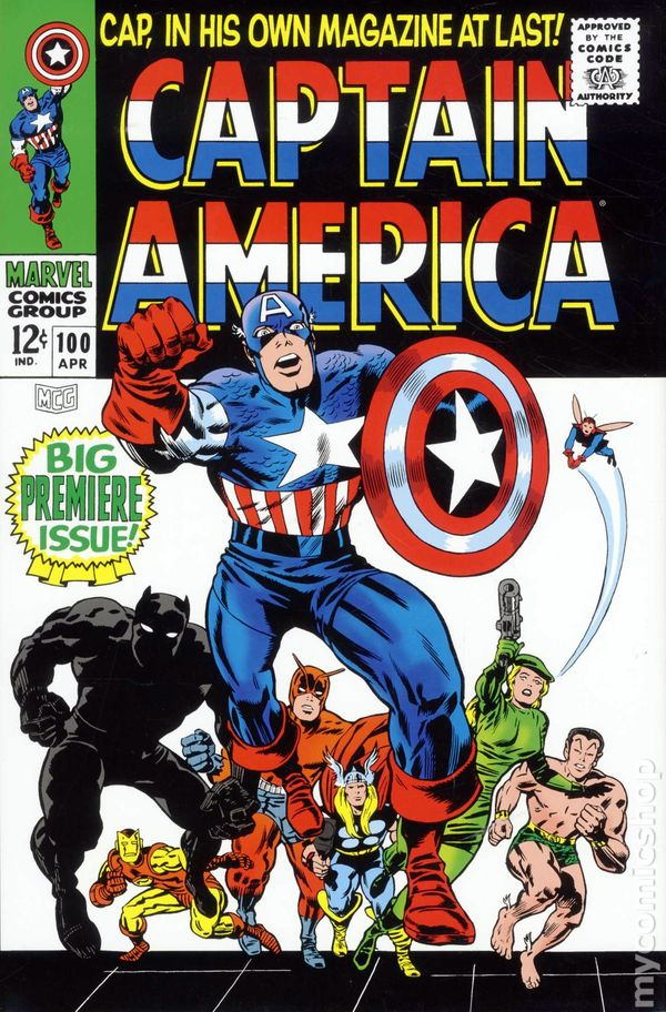 Comic Book Cover Graphics ~ Captain america omnibus hc marvel st edition