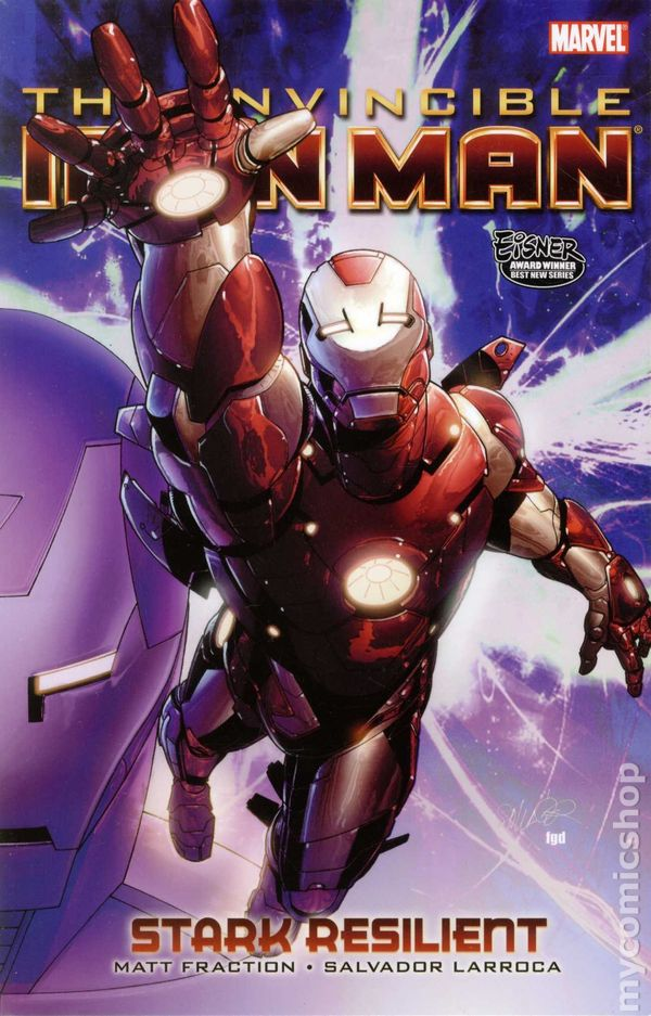 Iron man comic books issue 5