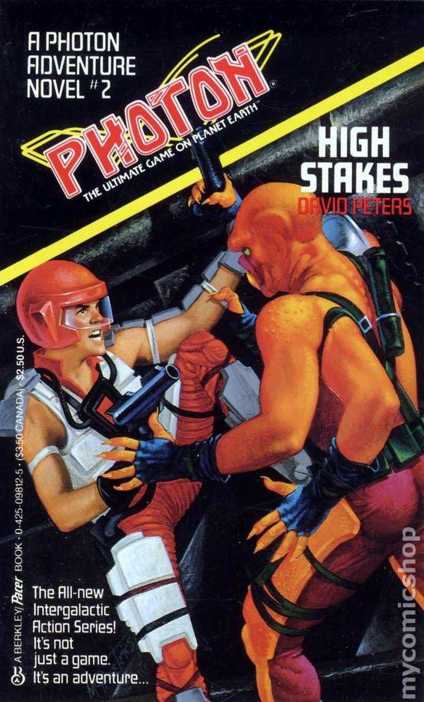 Photon PB (1987 Adventure Novel Series) comic books