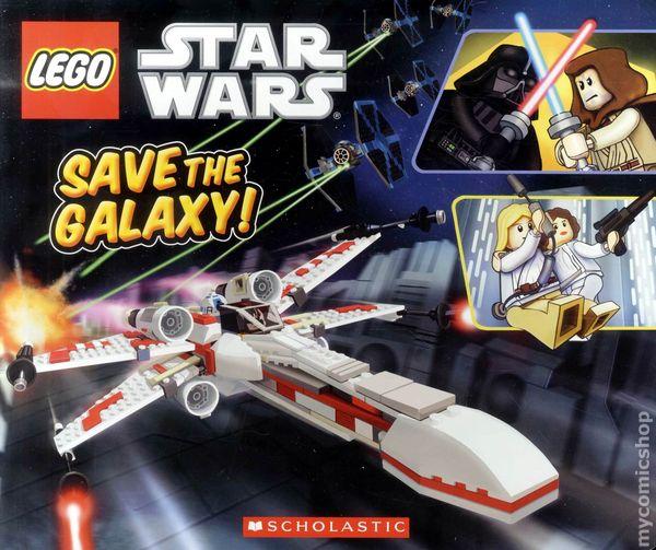 LEGO Star Wars Save The Galaxy HC (2011 Board Book) comic books