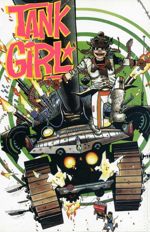 Tank Girl Tpb 2002 Titan Comic Books