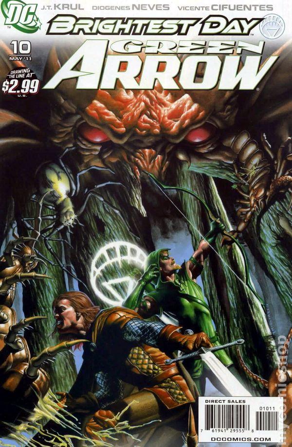 Green Arrow 2010 3rd Series DC 10A