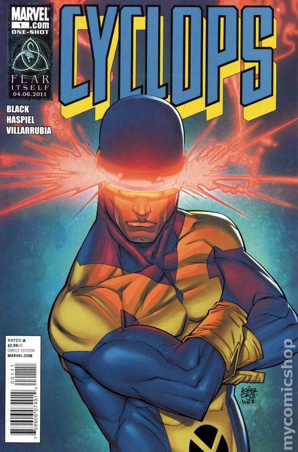 cyclops  2011 marvel  comic books