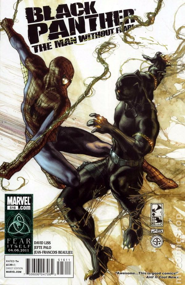 Black Panther The Man Without Fear 2010 Marvel Comic Books
