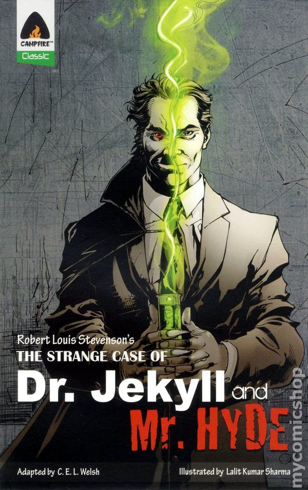 Strange Case of Dr. Jekyll and Mr. Hyde GN (2011 Campfire) comic books