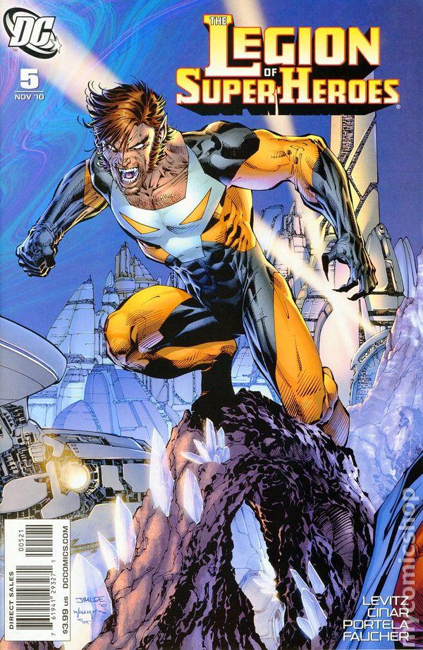 Legion Of Super Heroes 2010 6th Series Comic Books