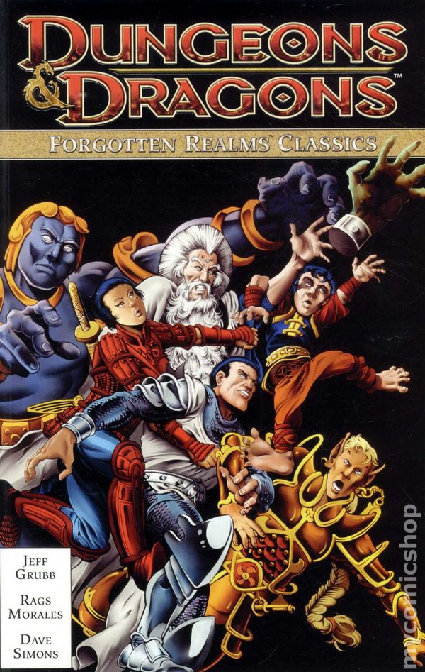Forgotten Realms comic books issue 1