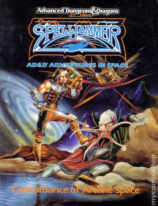 Spelljammer Comic Books Issue 1