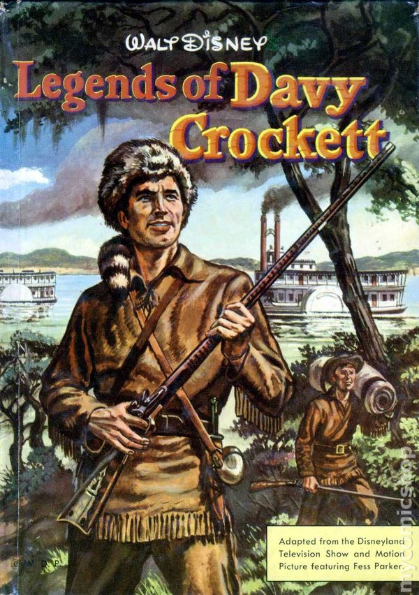 Davy Crockett Comic Books Issue 1