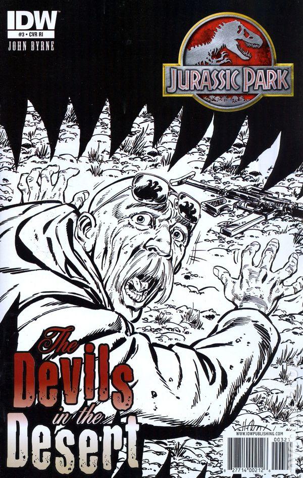 Jurassic Park Devils in the Desert #3A VF 2011 Stock Image