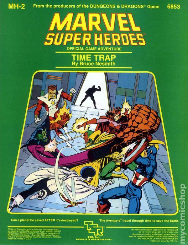 Time Trap Book