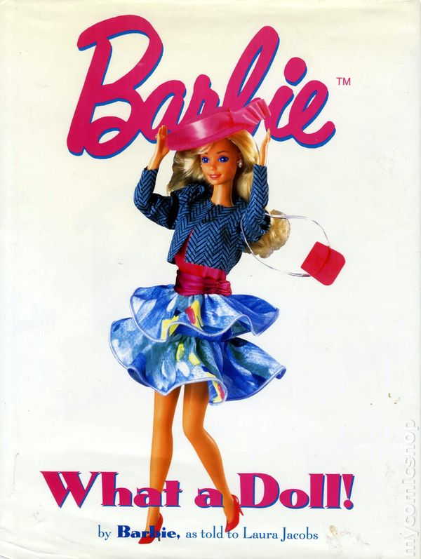 Barbie What a Doll HC 1994 comic books