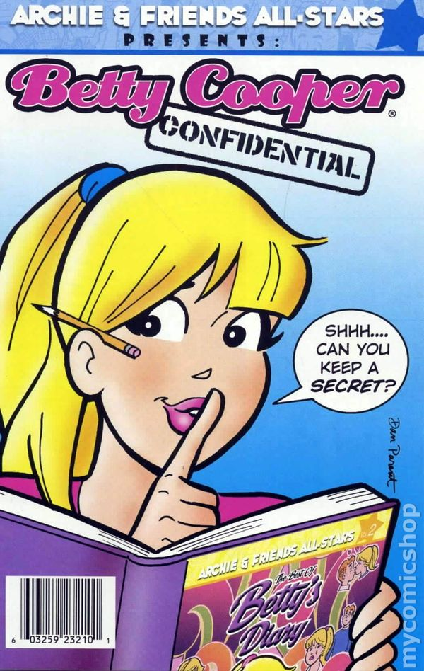 Betty Cooper Confidential 2009 Comic Books