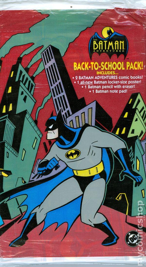 1993 Batman Adventures Coloring Book