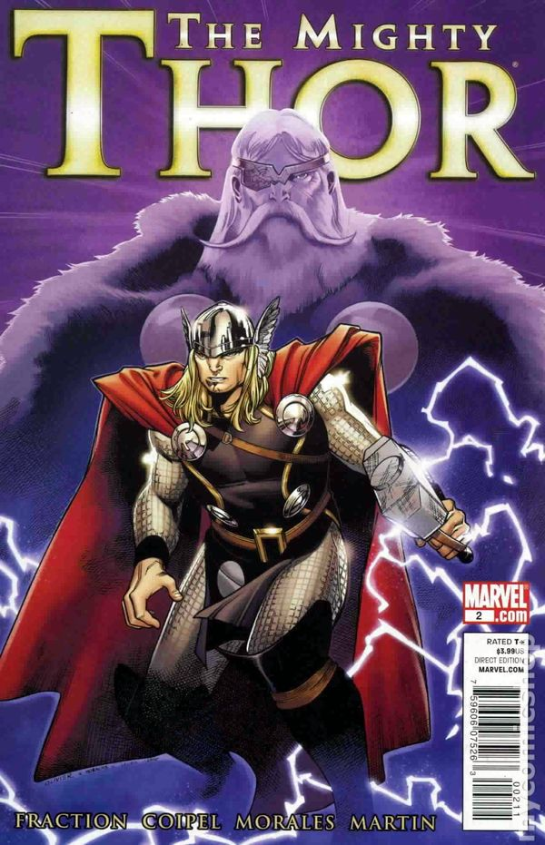 Mighty Thor 2011 Marvel Comic Books