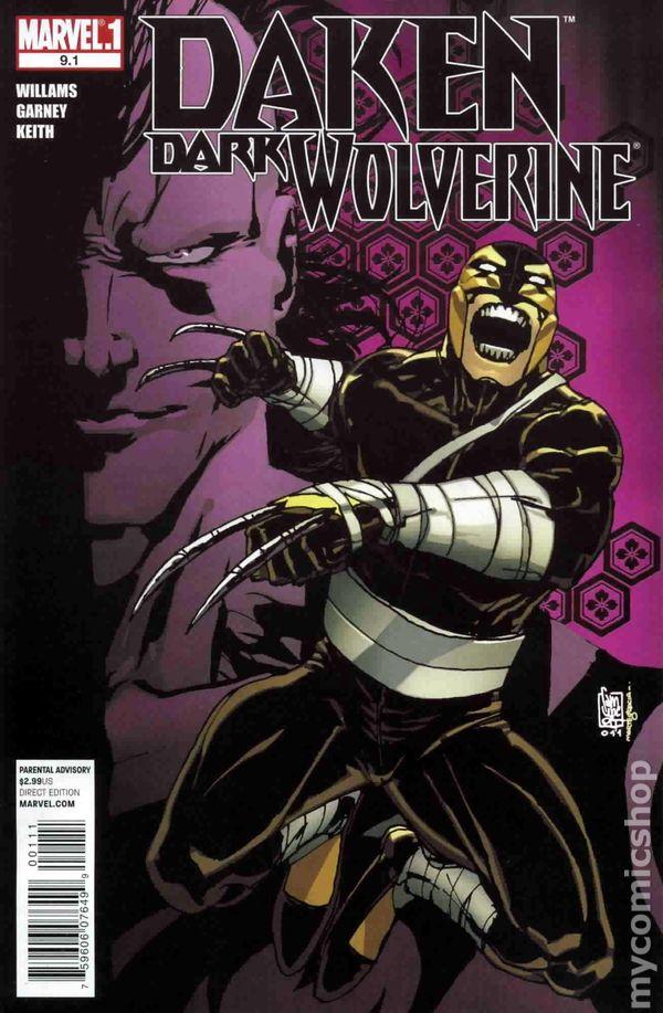 Daken Dark Wolverine (2010) comic books