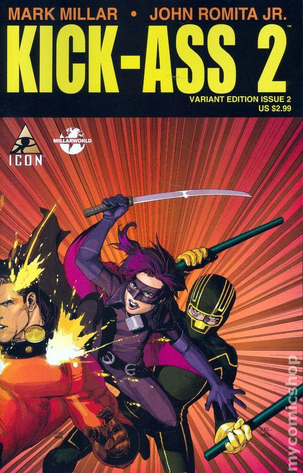Kick Ass Marvel 116