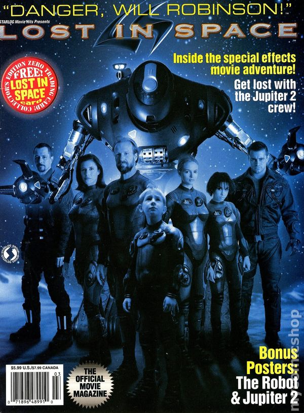 Lost in Space Official Movie Magazine (Starlog) comic books