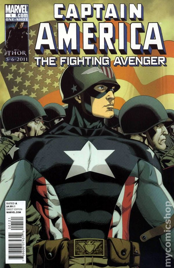 CAPTAIN AMERICA AND THE THIRTEEN #1 NM ONE-SHOT Captain America