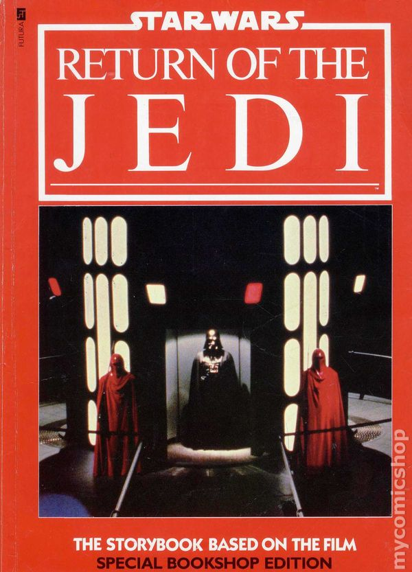 Star Wars Return Of The Jedi Storybook Sc 1983 Futura