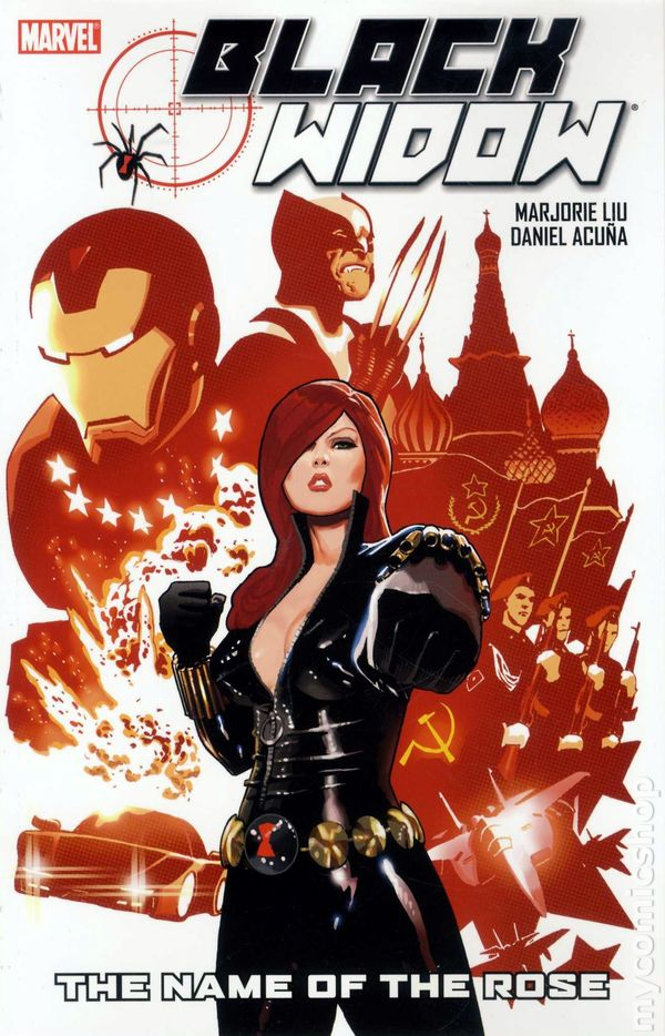 Black Widow The Name Of Rose TPB 2011 Marvel 1 1ST