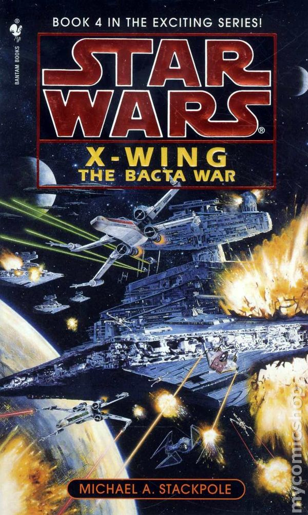 an analysis of star wars x wing rogue squadron a novel by michael a stackpole 40 years of star wars: corran horn, space detective  which was looking for hot pilots to restart rogue squadron  michael a stackpole's excellent novel i,.