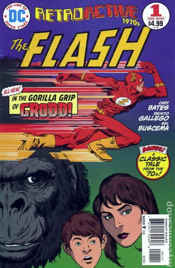 dc retroactive the flash the 70s  2011  comic books