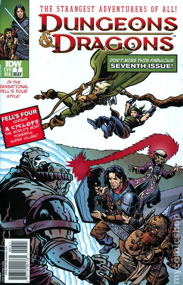dungeons and dragons comic pdf