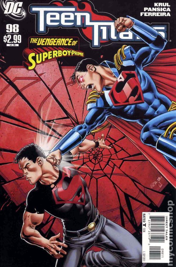 Teen Titans 2003-2011 3Rd Series Comic Books-4443
