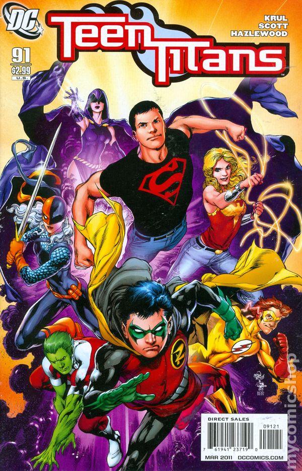 Teen Titans 2003-2011 3Rd Series Comic Books-9230