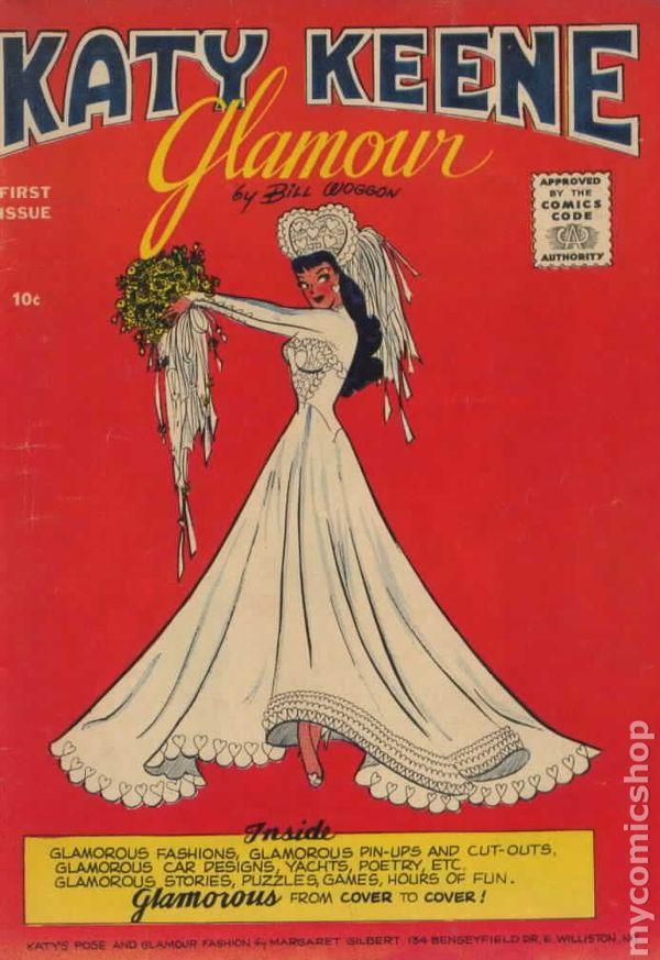 Katy Keene Glamour 1957 Comic Books