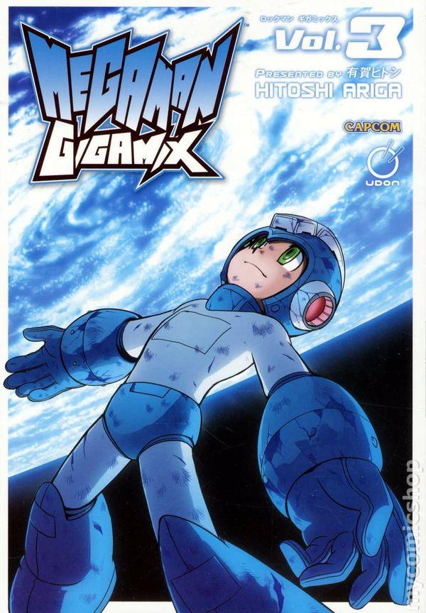 MEGA MAN #3  Spaz Cover VG+