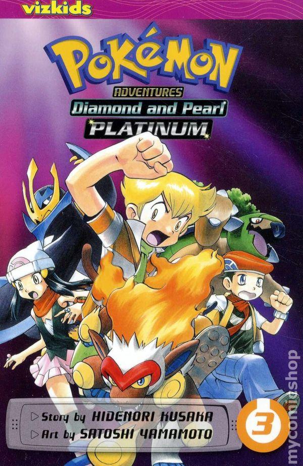 Pokemon Adventures Platinum Diamond and Pearl TPB (2011-2014