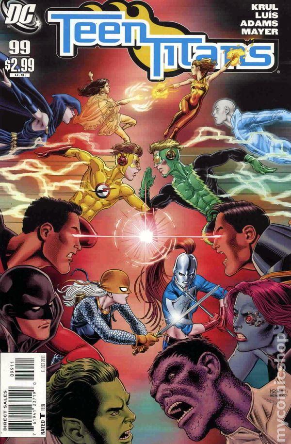 Teen Titans 2003-2011 3Rd Series Comic Books-4237