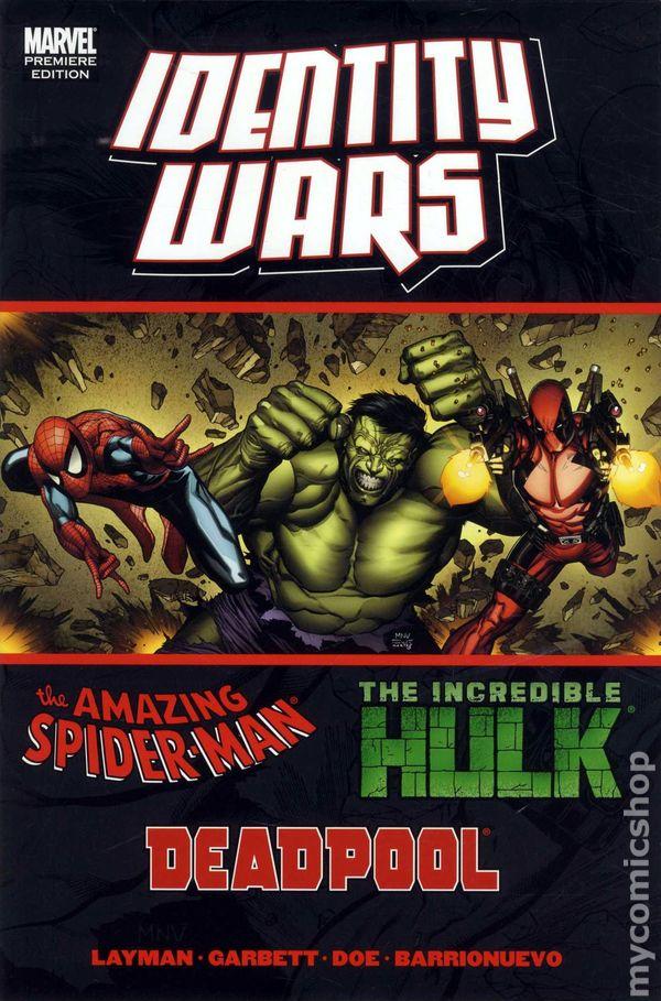 Comic books in spider man identity wars hc 2011 marvel deadpoolspider manhulk 1 fandeluxe Gallery