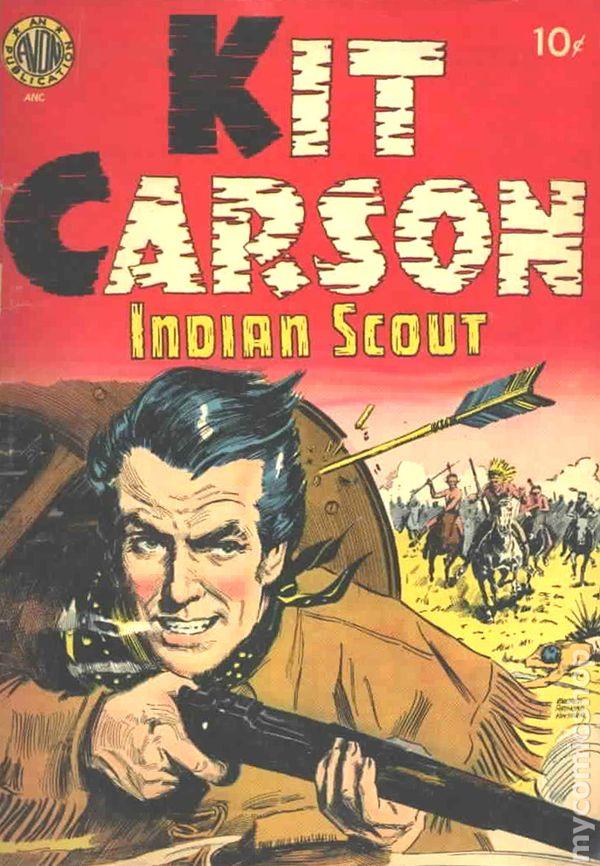 תוצאת תמונה עבור kit carson comics