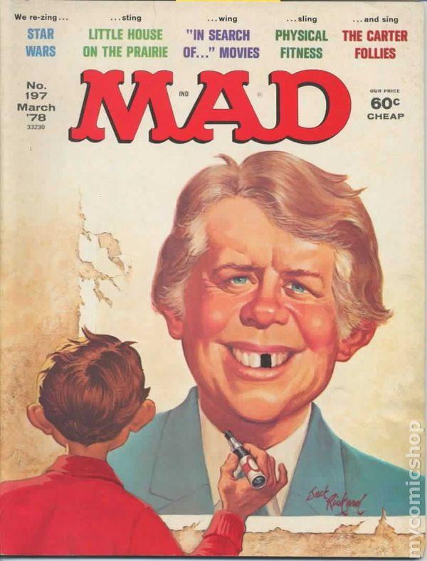 #158 1973 FN Stock Image Magazine #24 On Mad