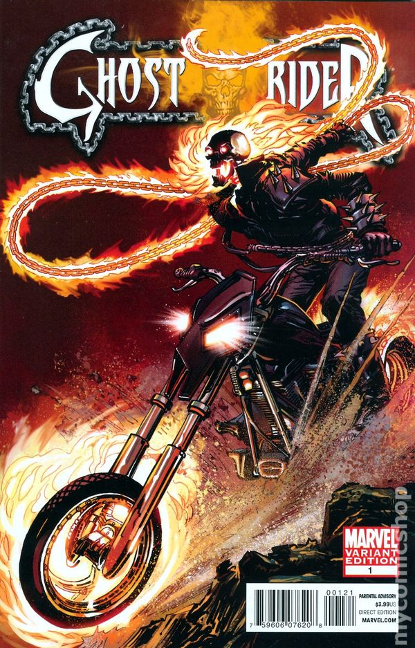 Ghost rider comic books issue 1