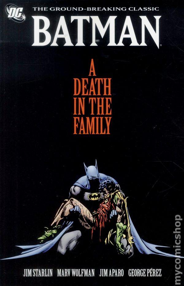 batman death of the family comic