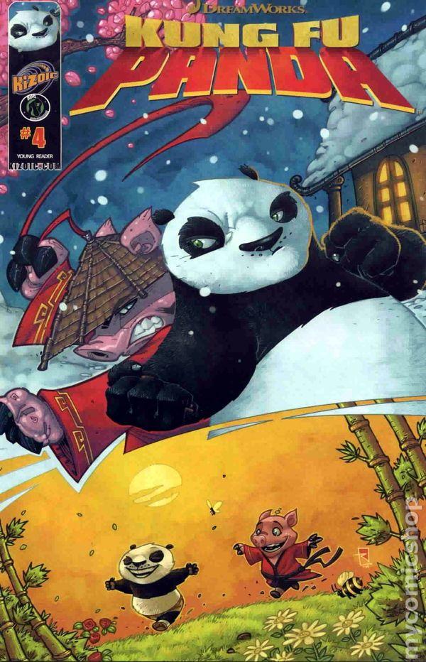 kung fu panda  2011 ape  comic books