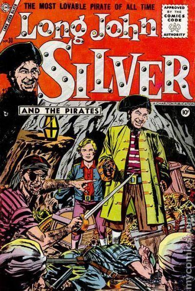 long john silver pirate