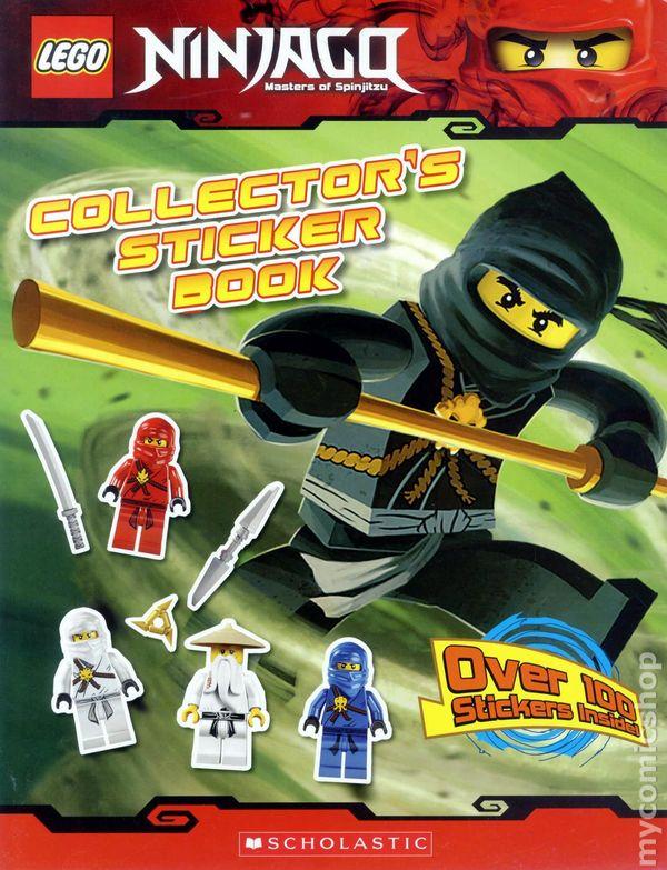 Comic books in 'LEGO Ninjago: Masters of Spinjitzu'