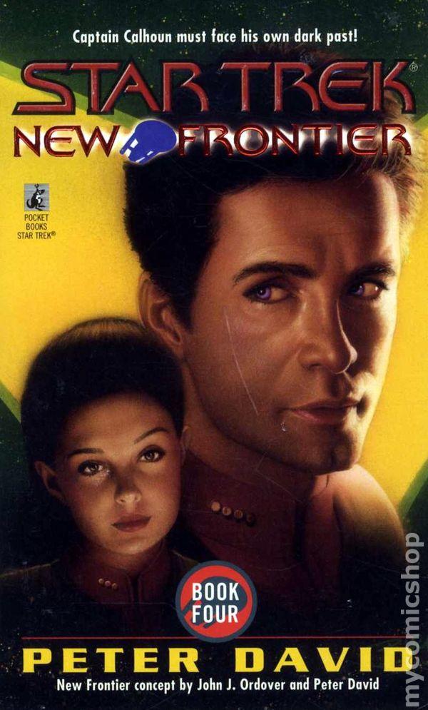 Comic Books In Star Trek New Frontier Novel